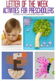 letter of the week Letter of the Week Activities for Preschoolers