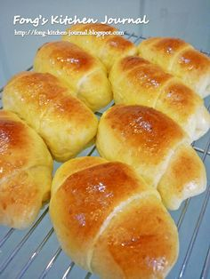 Fong's Kitchen Journal: Ham and Cheese Rolls