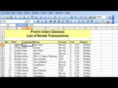 Microsoft Excel Tutorial for Beginners #26 - Database Pt.2 - Freeze & Split Table Navigation - YouTube