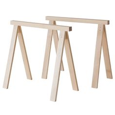 Usethe Nikari Arkitecture PPJ trestle legs along withthe PPK tabletop to create a robust and versatile table to the office or dining room. Thanks to their stackability, the PPJ trestles are easily stored even in smaller spaces. Trestle Legs, Trestle Table, Diy Table Legs, Table Bases, High Quality Furniture, Vintage Table, Wooden Tables, Dining Room Table, Dining Rooms