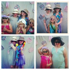 Hang up a white sheet on the wall and let the girls have a photo booth -- Obviously you'll be the photographer! Add some props -- plastic mics, wigs, sunglasses, etc from Dollar Tree and you're good to go!