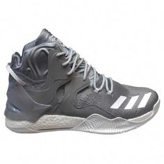 bc5b3c5c56fc Adidas Men D Rose 7 Basketball Shoes - 10.5 - Gray