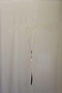 "32"" L Alloy, Copper, & Pearl Dawn Of Light Necklace ©"