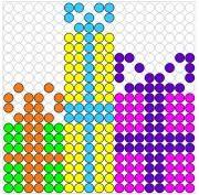 Deze kralenplank en vele andere in het thema sinterklaas kun je vinden op de website van Juf Milou. Cosy Christmas, Diy Christmas Cards, Holiday Crafts, Pearler Bead Patterns, Pearler Beads, Projects For Kids, Crafts For Kids, Stitching On Paper, C2c Crochet