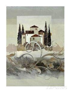 Villa Toscana II Prints by Franz Heigl - AllPosters.co.uk