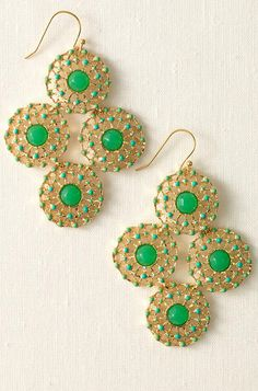 Garden Party Earrings by Stella & Dot