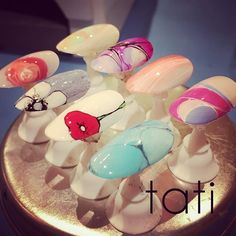 tati_nail極細ラインセミナー 色んな描き方があります◡̈♥︎ 受講者様のこれからのアートにつながれば幸いです。 お疲れ様でした(^_^) ・ ・ Hi there, I don't speak English, but my international team over at Neiru will be more than happy to help you out on my behalf! ・ If you have any questions, you can reach my international team and email SHOP@NEIRU.ME ・ You can also purchase tati brushes and my newest ebook at http://shop.neiru.me ・ - For more information - Shop: http://shop.neiru.me Instagram: @shop.neiru.me Email: shop@neiru.me ・ #nailart…