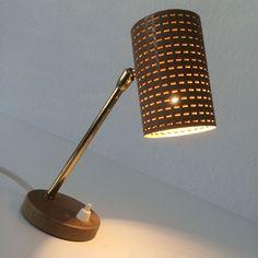 LOVELY Mid Century Modern SIDE TABLE LAMP Mategot GUARICHE Arteluce ERA 1950s   eBay