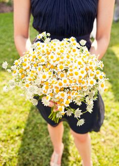 All I want for my wedding bouquet. Simple but, adorable