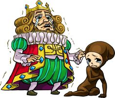 The King and Cursed Princess from the official artwork set for The Tri Force Heroes #TFH #TLoZ #Zelda from the official artwork set for the Tri Force Heroes #TFH #TLoZ #Zelda http://www.zelda-temple.net/