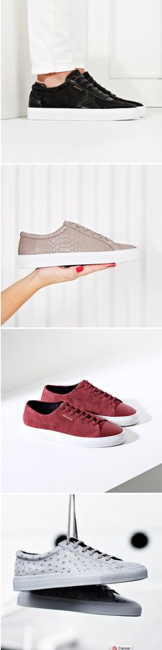 Accessorize:  5 Pairs of Axel Arigato Sneakers  #shoes #sneakers #fashion