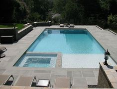 Having a pool sounds awesome especially if you are working with the best backyard pool landscaping ideas there is. How you design a proper backyard with a pool matters. Backyard Pool Landscaping, Backyard Pool Designs, Small Backyard Landscaping, Landscaping Ideas, Backyard Layout, Piscina Hotel, Piscina Spa, Swimming Pools Backyard, Swimming Pool Designs