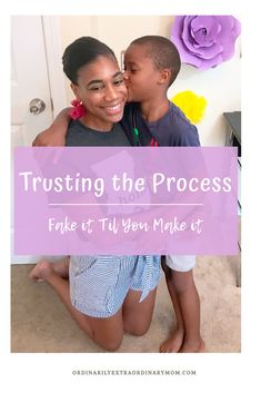 Trusting the Process – Fake it Til You Make It – ordinarilyextraordinarymom Christian Devotions, Christian Encouragement, Love Languages For Kids, Christian Women, Christian Living, Christian Life, Bible Studies For Beginners, Keep Praying, I Am Angry