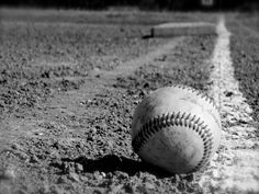 NEW Black & White Baseball Photography Sports Room by smithDESIGNZ, $15.00: