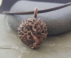 Turritella Jasper Tree of Life Fossil Jewellery Unisex