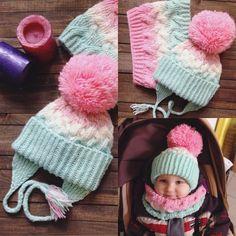 Комплект на малышку с градиентом, из оч мягкой ниточки, в комплект также входят варежки и манишка( по желанию). Возможен Family look)#cosyknits #knittingislove #knittinglove #knitting #вязаныйкомплект #вязаниеназаказ #вяжутнетолькобабушки #вязаниеспицаминазаказ #вязаниедетям #вязаниедеткам#фэмилилук#вязаниеминск…