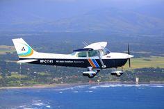 Aviation School   AAA Academy   Lapangan latihan penerbangan   Cessna   percontohan sekolah pelatihan pen