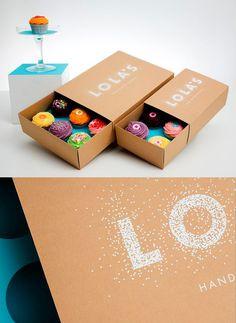 THIẾT KẾ BAO BÌ ĐẸP  THIẾT KẾ BAO BÌ HỘP BÁNH  CUPCAKE BOX | CUPCAKE PACKAGING DESIGN  LOLA'S KITCHEN CUPCAKES PACKAGING DESIGN BY CAMPBELL HAY