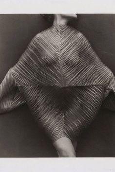 Herb Ritz Issey Miyake Pleated Dress