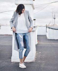 La #blogger Claudia Peris con #bluchers #LinceShoes