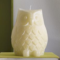 West Elm Owl Candle: LOVE but I would hate to burn it!