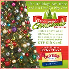 9' Pre-Lit Slim Noble Pine Christmas Tree | Old Time Pottery ...