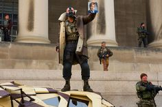Bane played by Tom Hardy.