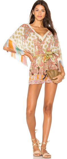 Beautiful romper with fringe detail