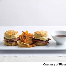 Entertaining for the Super Bowl? Check out our dueling surf vs. turf recipes from chef Jason Franey at Seattle hotspot Canlis and Jennifer Jasinski of Denver's Rioja. There are lamb sliders (pictured), goat cheese dip, tater tots and more. Get the recipes and wine pairings here: http://www.winespectator.com/webfeature/show/id/49524