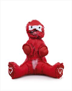 A bear turned inside out by Kent Rogowski. This one looks like a Valentine's Day plush. Interesting News Articles, Interesting Stuff, Cute Teddy Bears, Designer Toys, Almost Always, Creative People, Creative Thinking, Inside Out, Textile Art