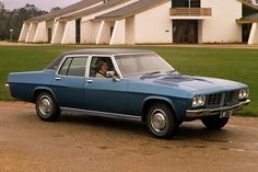 Long wheelbase luxury car, based on the HQ model. Engine options were six, and Chevrolet Australian Muscle Cars, Aussie Muscle Cars, Holden Australia, Australian Vintage, Van Car, Car Buyer, Commercial Vehicle, Small Cars, Car Brands