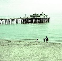 Malibu Pier - sand, surf...beautiful California | Flickr - Photo Sharing!