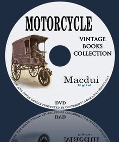 Motorcycles  Vintage Books Collection 20 PDF by MacduiDigital
