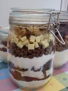 Rachel's Recipes: Cookie Mix and Brownie Mix in a Jar