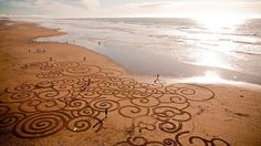 cool Andreas Amador beach art