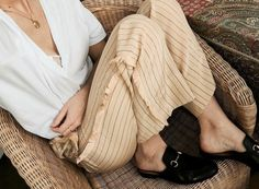 #casual #stripes #comfy #neutral #summer