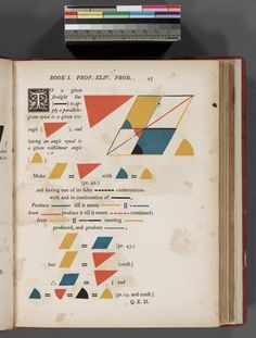 mathematical treasures - from Oliver Byrne's Euclid