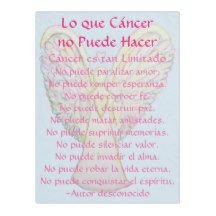 Lo que Cáncer no Puede Hacer Angel Chemo Soft Cozy Fleece Blanket - What Cancer Cannot Do in Spanish
