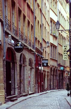 Lyon - France ....I walked on this street in the summer of 2011...hand in hand, what fun we had