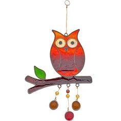 Hanging Owl Suncatcher Resin Garden Decor Ornament, http://www.amazon.com/dp/B01DJB4LVU/ref=cm_sw_r_pi_awdm_x_ja8UxbKA2DST0