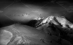 Mystic winter landscape by Dreamy Pixel on @creativemarket