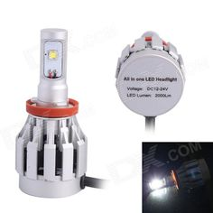 Color BIN: White; Brand: GC; Model: 3HL-H11 20W; Quantity: 1 Piece; Material: Aluminum alloy; Color: White; Emitter Type: LED; Chip Brand: Cree; Chip Type: XM-L2; Total Emitters: 2; Power: Others,20W; Color Temperature: 6500 K; Actual Lumens: 2000 lumens; Rate Voltage: 12~24V; Waterproof Function: Yes; Connector Type: Others,H11; Application: Headlamp,Foglight,Others,All in one; Packing List: 2 x LED lights; http://j.mp/1q1rguG