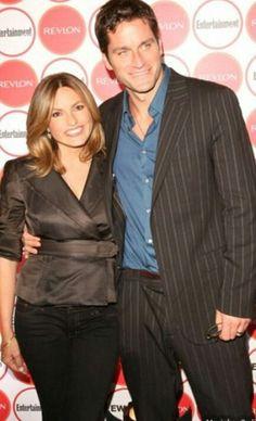 Mariska Hargitay with her husband Peter Hermann so in love