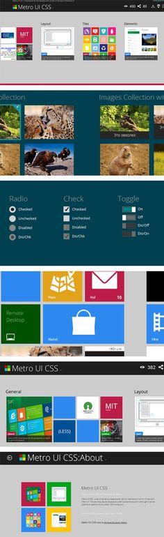 Graphisme & interactivité blog par Geoffrey Dorne » L'interface Metro de Microsoft intégralement en CSS grâce à Metro UI CSS !