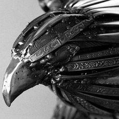 Cutlery animal sculpture