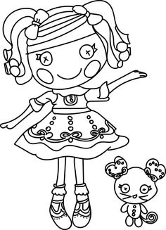 The Best Lalaloopsy Dolls Coloring Pages   Cool coloring ...