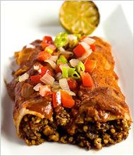 Vegan Enchiladas - for filling add tomatoes, corn, green chili pepper, and black beans instead of tofu Raw Food Recipes, Veggie Recipes, Mexican Food Recipes, Healthy Recipes, Tofu, Raw Vegan, Vegan Vegetarian, Vegetarian Recipes, Cilantro