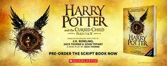 Pre-order the script book now! #harrypotter #cursedchild #hpscriptbook