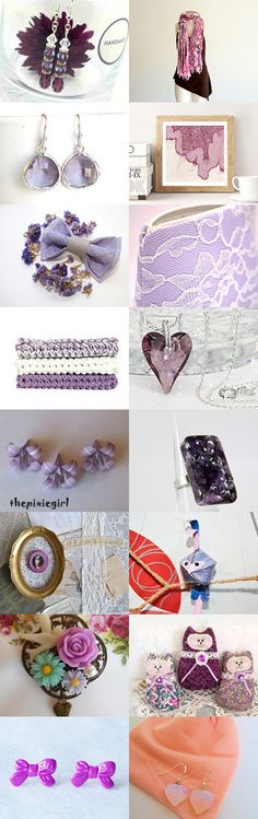 Lilac today's finds by RedGreen on Etsy--Pinned with TreasuryPin.com