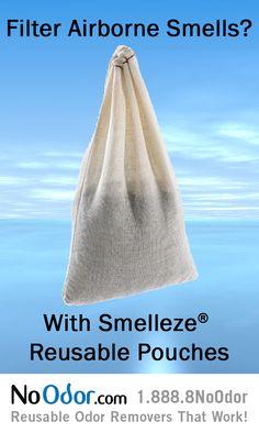 TOP LINE: Filter Airborne Smells